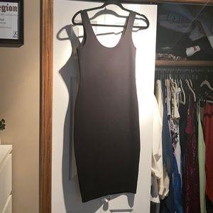 NWT Black MIDI Dress